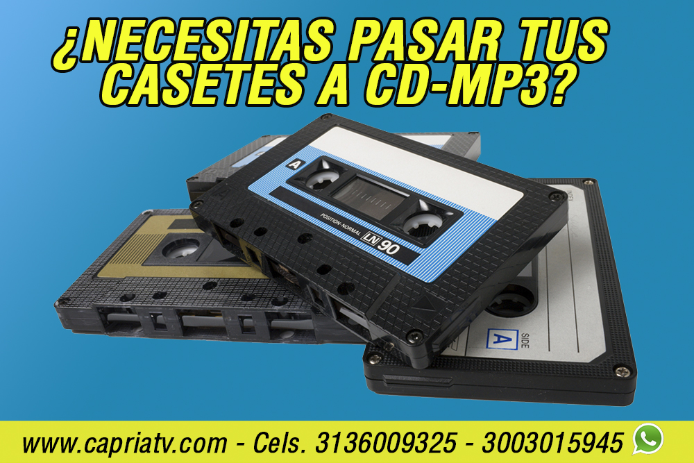 transfer casete a cd en cali