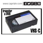transfer de vhs compact a dvd cali
