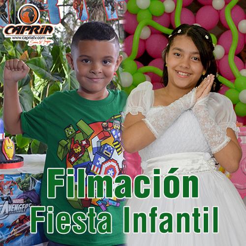 FILMACIÓN FIESTA INFANTIL CALI