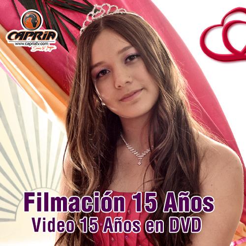 FILMACIÓN 15 AÑOS DVD CALI