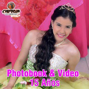 PHOTOBOOK Y VIDEO 15 AÑOS CALI